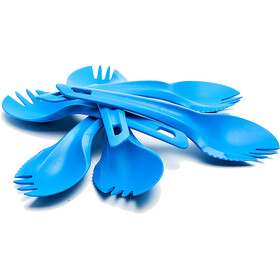 Wildo Spork Set, light blue
